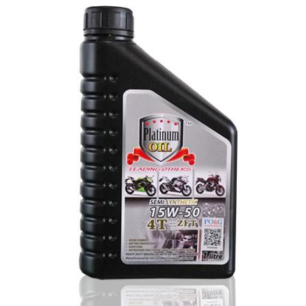 Platinum Oil SEMI SYNTHETIC 15W-50 4T