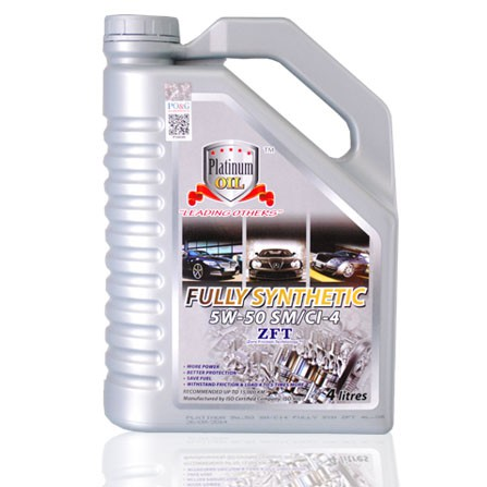 Platinum Oil Fully Synthetic 5W-50SM/CI-4 4L