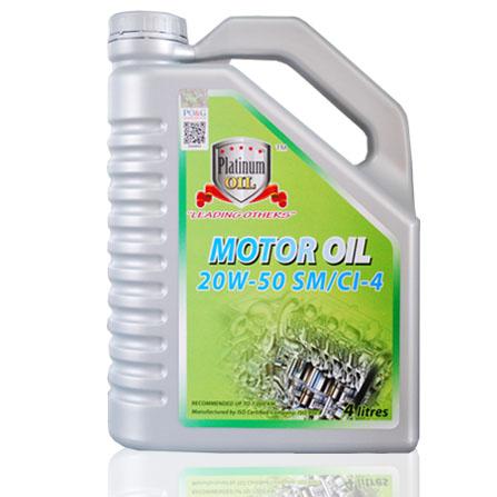Platinum Oil Mineral Base 20W-50SM/CI-4 4L