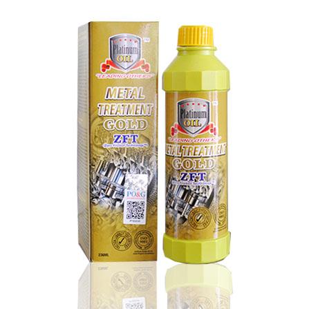 Platinum Oil Metal Treatment Gold