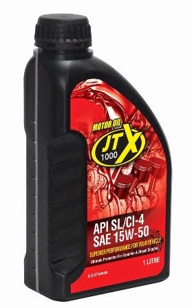 JTX 1000 RED Motor Oil 1L